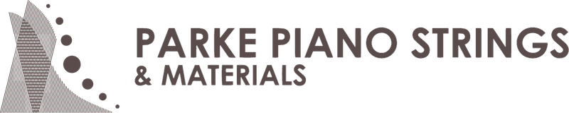 parke piano strings & materials logo